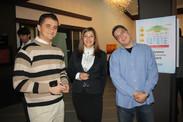 Bojan Hristovski, Evgenija Gjorgjieva and Ljubomir Nikolov