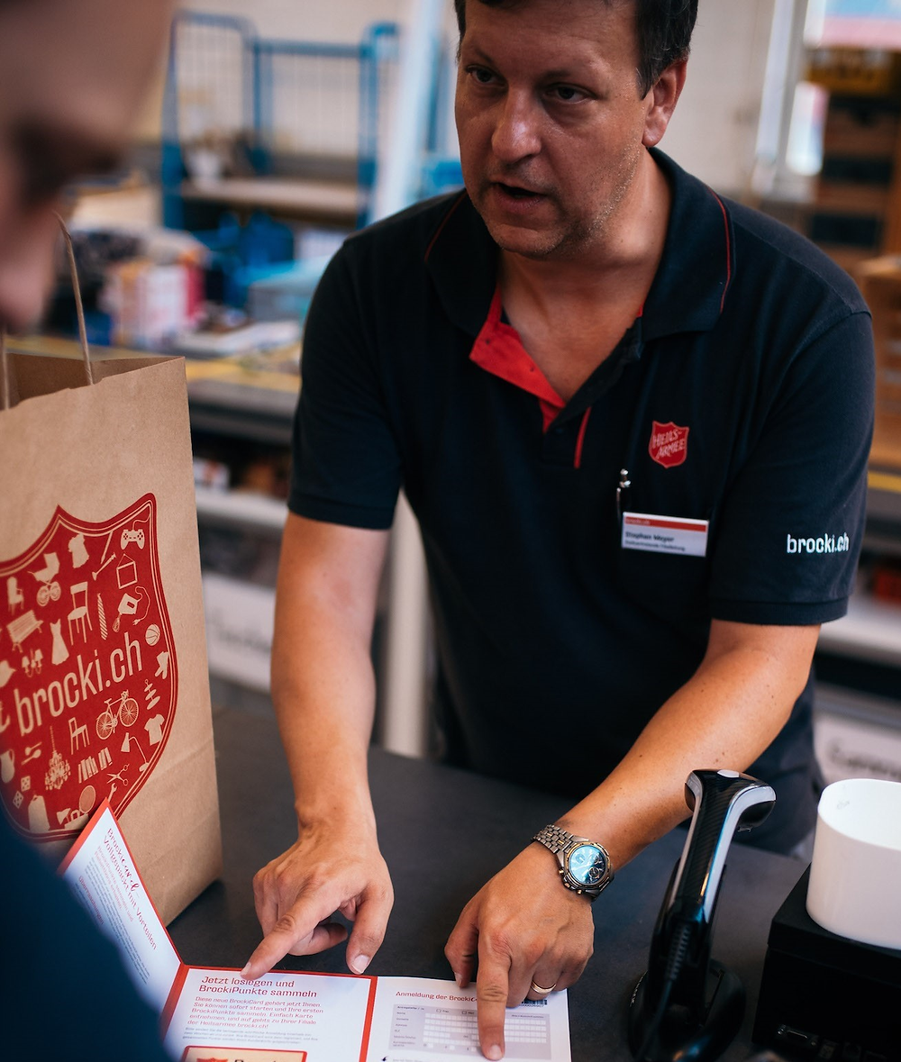The Salvation Army Switzerland deepens relationships with supporters through a CRM-based loyalty program