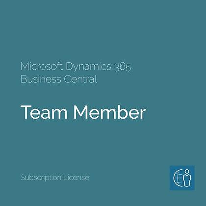 Dyn365 Business Central Член на тим (месечна претплата)