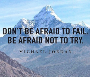 Немај страв од пад. Плаши се ако не пробаш.