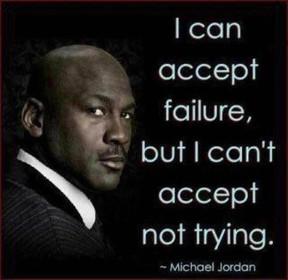 Што не е прифатливо ако сакаш успех