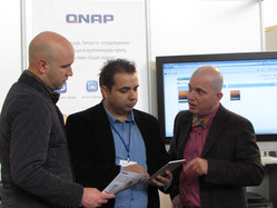 At The QNAP Booth