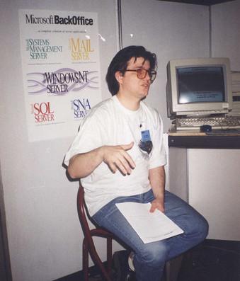 Предавање на штанд Инфоком 95
