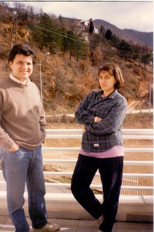 Венко Глигоров и Катерина Тодорова