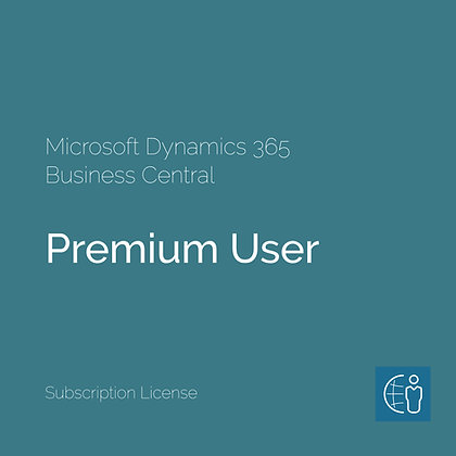 Dyn365 Business Central Premium User (Subscription)