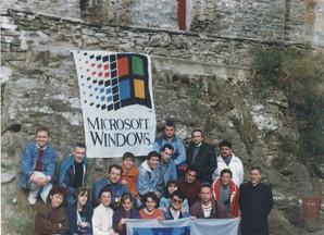 Делегатите на семинар за Windows Chicago