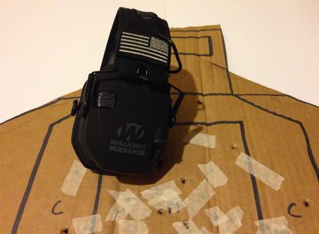 Equipment: Walker's Razor Slim Electronic Muffs