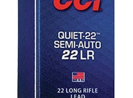 Equipment: CCI Quiet Semi-Auto
