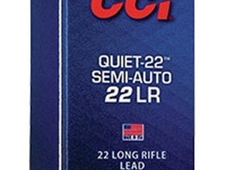 Equipment: CCI Quiet Semi-Auto
