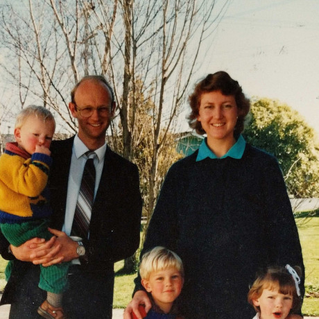Rev. & Mrs. J Haverland & Family
