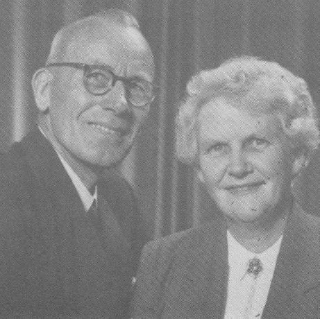 Rev. & Mrs. J A Scarrow