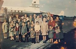 Heenan farewell, 1956