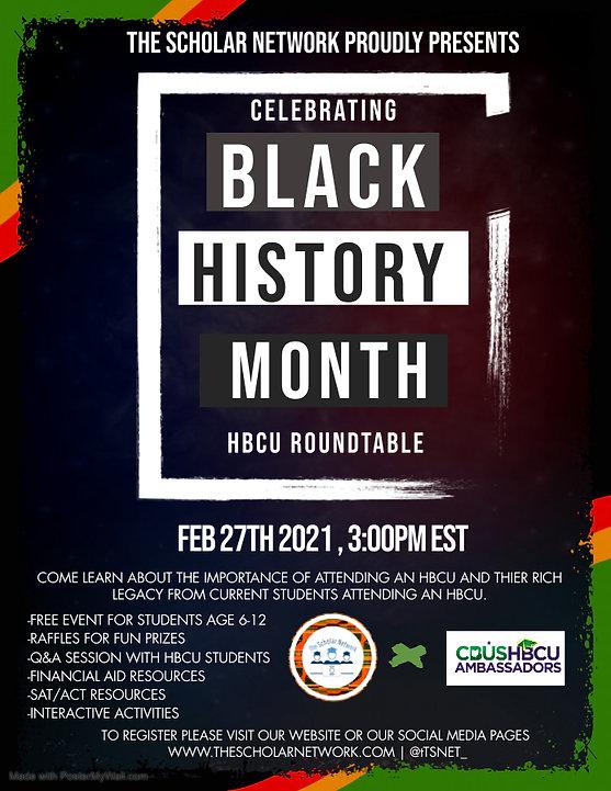 TSN Black History Month Flyer (1) - Made