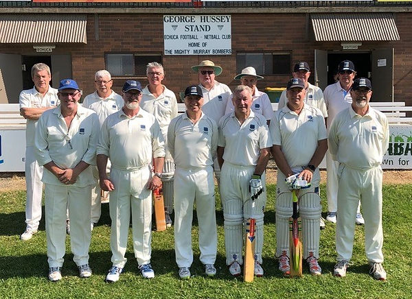CCC Over 60s at the National Club Championships, Echuca, March 2019