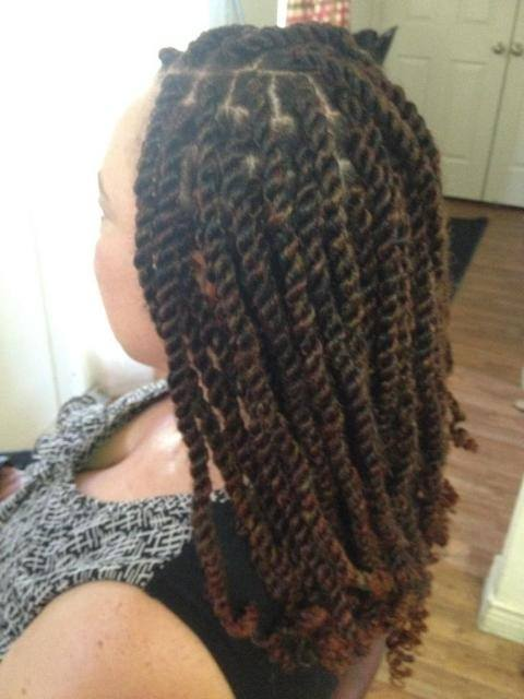 Jumbo Twists Havana Braids