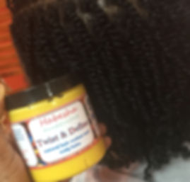 Twist & Define Natural hair Butter