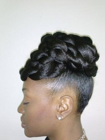 Updo Styles For Natural Hair