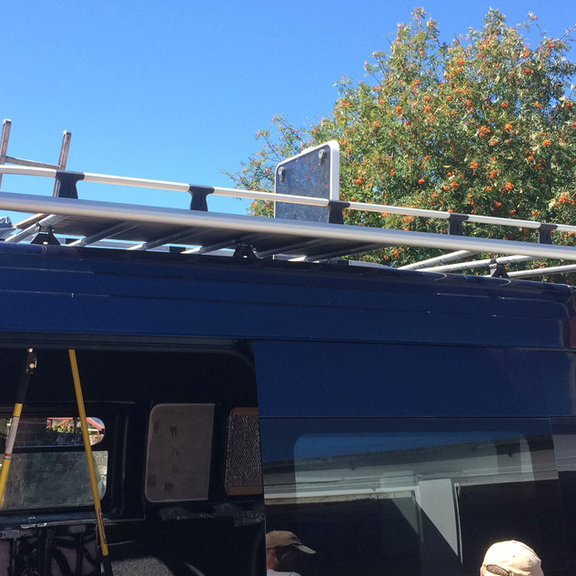 Roof rack and decking