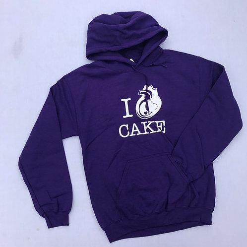 I HEART CAKE Sweatshirts