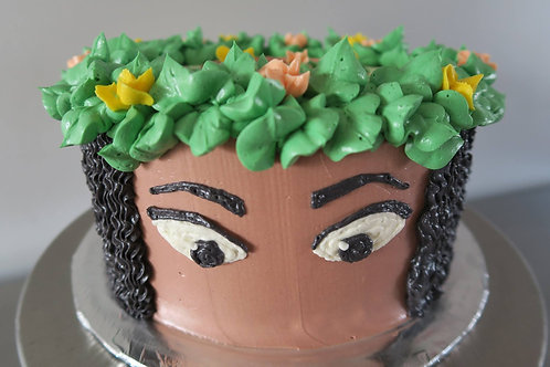 """8"""" Hearty Party Cake"""