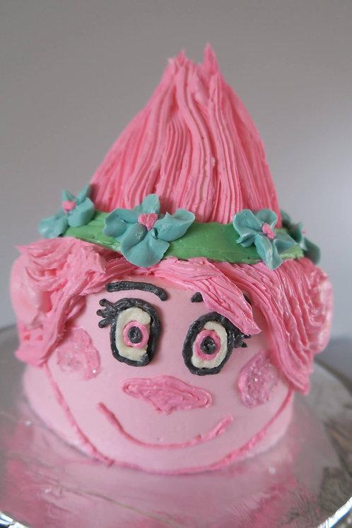 "Small 6"" Heart Cake"
