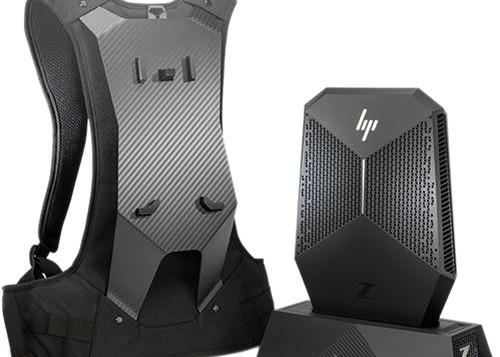 HP VR Backpack Workstation