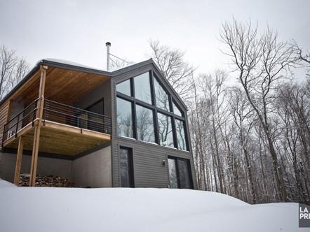Première maison certifiée neutre en carbone au Québec: Article de La Presse