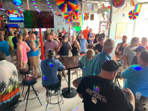 June 13, 2021 Member Meeting at The Garage on Central