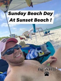 Bears at Sunset Beach!
