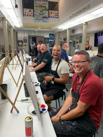 Paint & Sip with Pride June 16, 2021