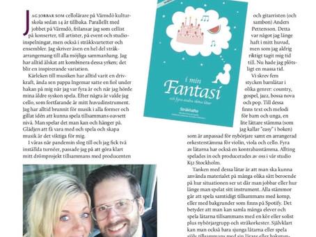 Artikel i tidningen ESTA-news