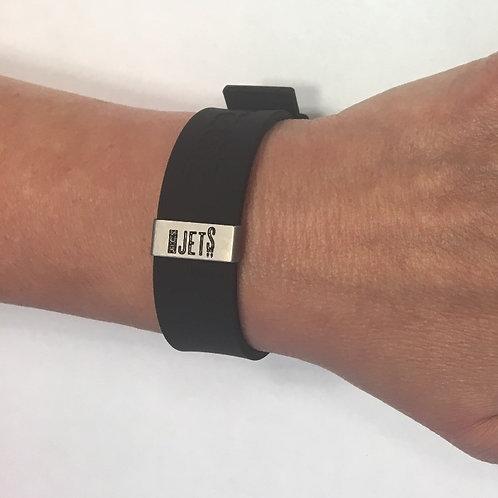 RaDTaGZ bracelet and JICS Jets Tag