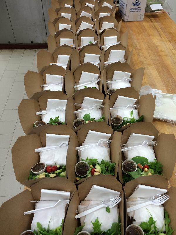 Mixed Green Salad Boxes