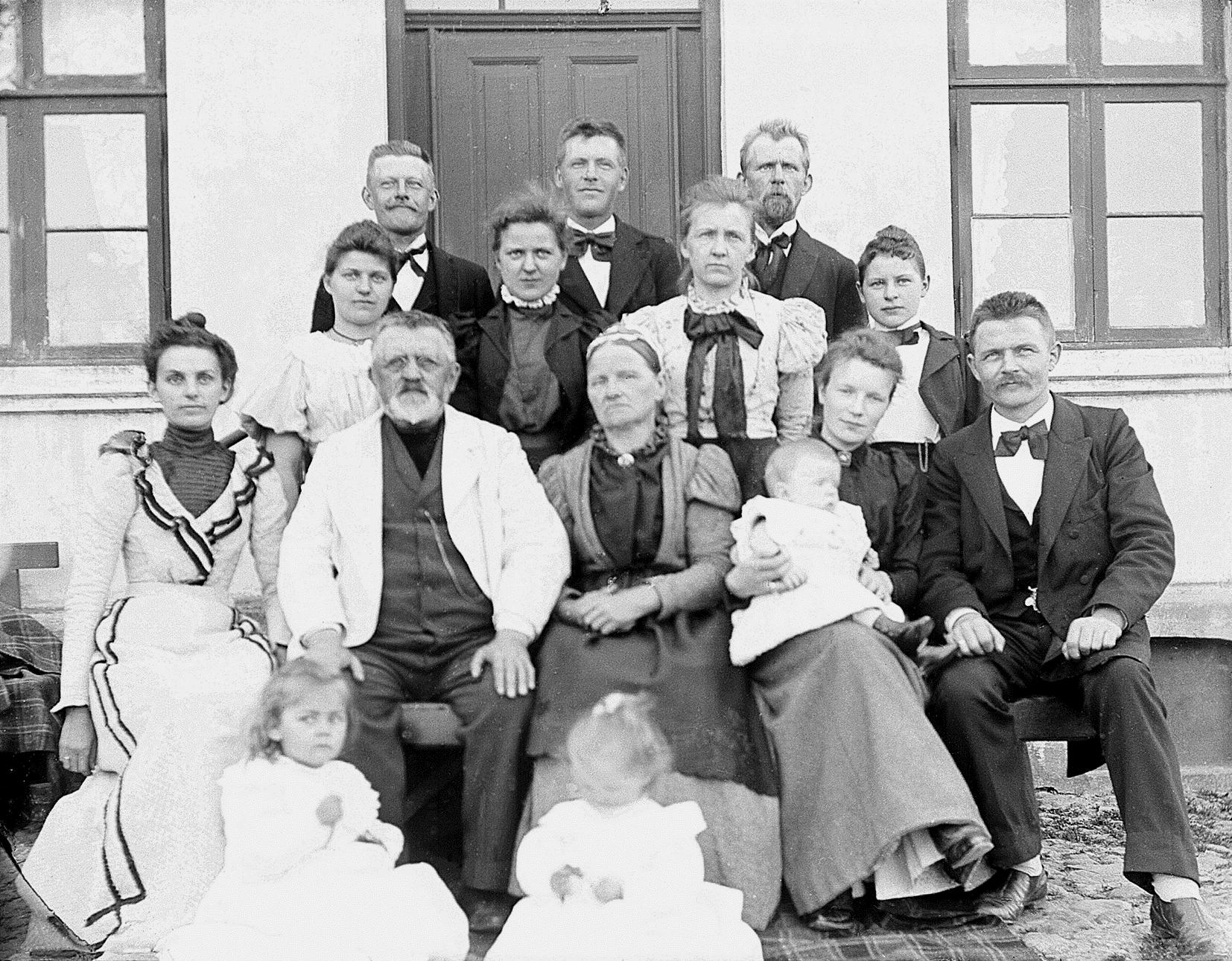 Ib Nederlands udvandrede familie