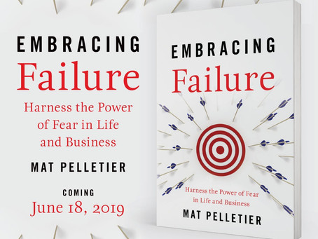 """June 18th Book Launch of """"Embracing Failure"""""""
