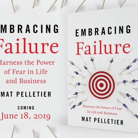 "June 18th Book Launch of ""Embracing Failure"""