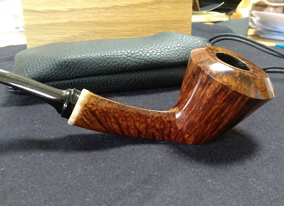 Twisted Dublin Sitter with tagua nut ring Grade A