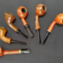 Pipes prepared for the Danish Pipe Shop event 2018