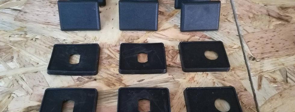 R5 GTT Rear Side Windows Rubbers + Plastics