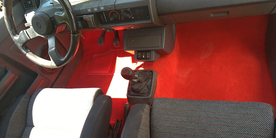 Renault 5 GT Turbo New Floor Carpet