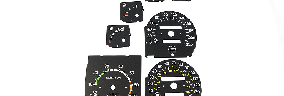 R9/R11 Turbo Clock Dials