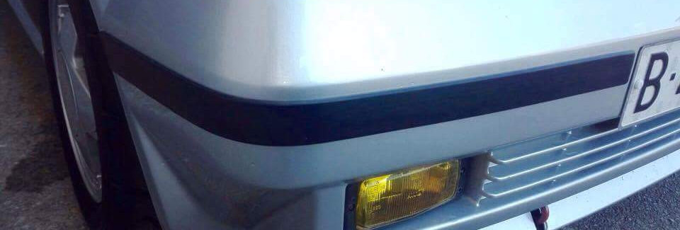 R5 GTT PH2 Bumper Trims Set