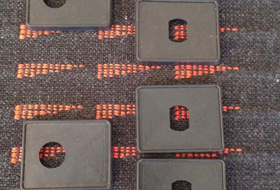 R5 GTT Rear Side Windows Rubber Seals