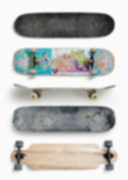 Four Skateboards