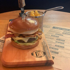 Burger com bacon