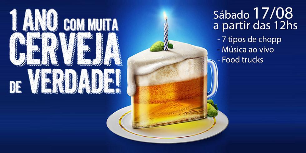 Aniversário de um ano da Eagle Beer Village