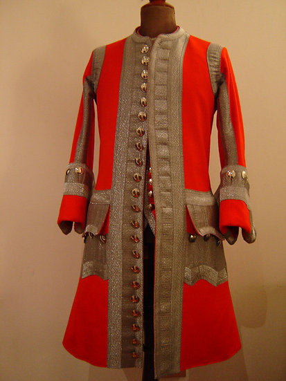 Swiss & French Guard officer's coat 1735-1762