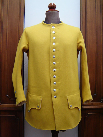 Clare's Irish regiment sleeved vest c.1745