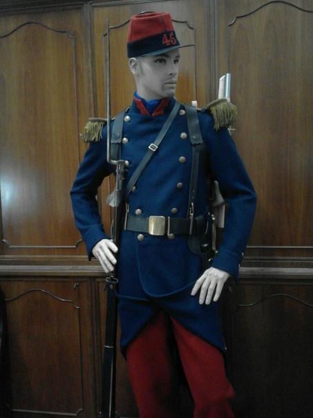 French infantryman 1859