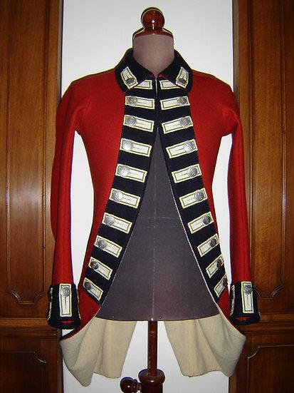 British Revolutionary War coat 1768-1783